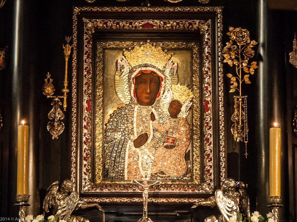Die schwarze Madonna von Tschenstochau